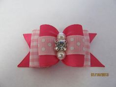 doggie bow for all those pretty little girls out there