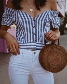 All perfection though summer outfits, casual outfits, cute outfits, fashion outfits, womens Vintage Summer Outfits, Cool Summer Outfits, Spring Outfits, Outfit Summer, Boho Fashion, Fashion Looks, Fashion Outfits, Womens Fashion, Fashion Vintage