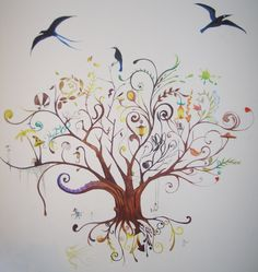 The tree of life and death by Irrelevantart.deviantart.com on @deviantART