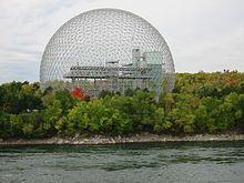 Montreal Biosphère by Buckminster Fuller, 1967