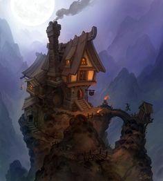fantasy tavern illustration - Google Search