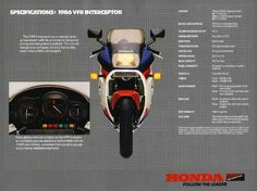 Honda vfr 750 Interceptor 1986 Honda Vfr, Honda Bikes, Sportbikes, Bike Life, Cool Bikes, Cars And Motorcycles, Motorbikes, Baby Car Seats, Retro Vintage