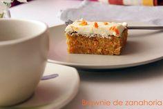 La cocina de Pancho: Brownie de zanahoria