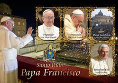 Santo Padre - Papa Francisco #Pope #Vaticano  #Filatelia #Philately #Ratzinger