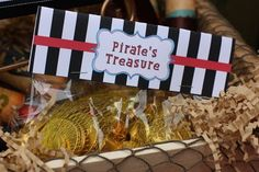 Pirate themed party by Pizzazzerie : Anders Ruff Custom Designs :