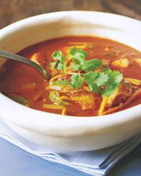 Chicken Tortilla Soup....I've tried several and this is hands down the best.  You will thank me after trying it! :)