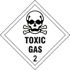 infectious substance 6 diamond label free delivery and products Secondary Labels toxic gas 2 diamond label