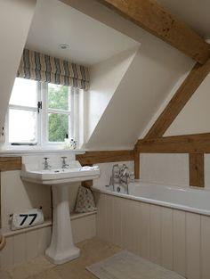 from little acorns.........: A lovely oak framed cottage