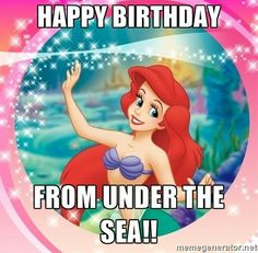 Happy Birthday From Under The Sea