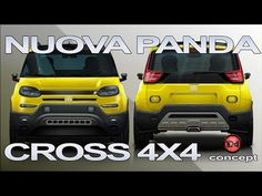 4x4, Fiat, Concept, Vehicles, Youtube, Pandas, Cars, Vehicle, Youtubers