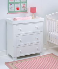 East Coast Nursery Montreal Dresser - White