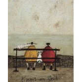Found it at Wayfair.co.uk - Bums on Seat by Sam Toft Art Print on Canvas