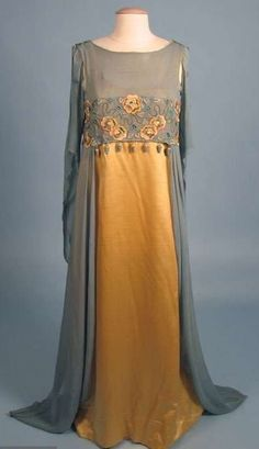 1908 Evening Gown by Liberty & Co London