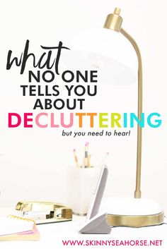 Learn one of the biggest decluttering myths that no one talks about. In this post, I uncover why the decluttering process should take time and how to make decisions about keeping sentimental items. Repin, then click through to read.
