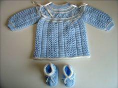Yakadan Başlama Mavi Hırka çocuk Ve Bebek Kazak Ve Hırka Modelleri