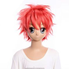 Cosplay Wigs Ao no Exorcist Short Shining Pink Wigs Cool Boys Cosplay Wigs Party Wigs Costume Wigs by GOOACTION. $23.28. Length :about 12.2 inch. Package:1 PCS. Hair Style: Cosplay Wigs. Color : AS PICTURE ,Color Shown: (Color may vary by monitor.). Material : High temperature wire. Brand: GOOACTION Recommended features: 1. Super natural wig , suitable for almost every lady aged from teenagers to adults. 2. With the high technology, Miss Beauty wig series are quite ...