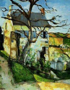 Paul Cezanne - Maison et arbre