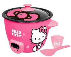Hello Kitty Rice Cooker – Pink (APP-43209)