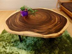 テーブル(モンキーポッド) - レイコさんのda BOSCOのダイニングテーブル - イエナカ手帖