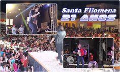 Santa Filomena Atual: Fotos - Iohannes Imperador e Dorgival Dantas, Fest...