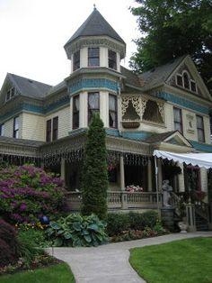 David Cole Queen Anne Victorian Mansion, Portland, Oregon