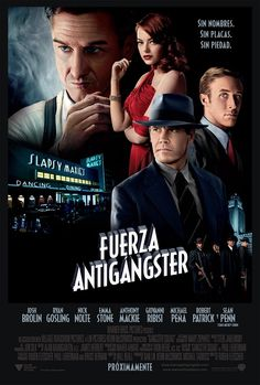 Fuerza Antigangster - Poster