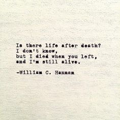 Life after Death by William C. Hannan