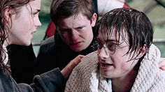 miones: He looked helplessly at Hermione whose face was...
