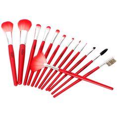 FASH Brush Set, 13pcs Nylon Set. #beauty, #tool, #makeup, #brushes