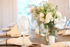 Welcome to Nikki Glekas Events White Floral Centerpieces, All White Wedding, How To Memorize Things, Events, Table Decorations, Happenings, Center Pieces