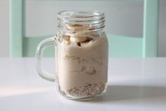 Slimming World banana overnight oats