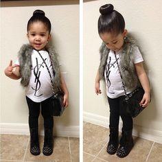 Kids fashion// her cute little belly <3