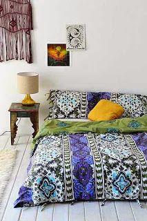 Boho Chic: Bedding