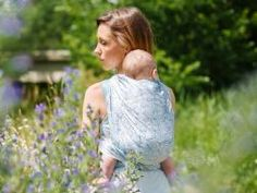 Roses Bayou Baby Wrap - Ice cotton and organic combed cotton for a cool feel. Made in Scotland by Oscha Slings for the Coastal Collection. Ice Cotton, Baby Wraps, Open Weave, Babywearing, Scotland, Coastal, Roses, Organic, Collection