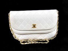 Vintage Classic Flap  Lambskin Shoulder Bag by gailparker4 on Etsy, $1110.00