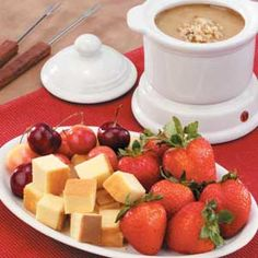 Maple Walnut Fondue Recipe | Taste of Home Recipes