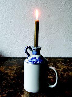 Gabriella Douglas's Cup Crockery - Candle stick cup