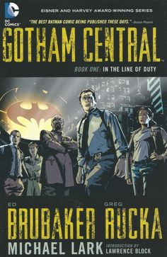 The first ten issues of the Eisner and Harvey Award-winning series are collected in softcover for the first time! Written by Ed Brubaker (Captain America) and Greg Rucka (DETECTIVE COMICS, 52), this series pits the detectives of Gotham City's Special Crimes Unit against the city's greatest villains - in the shadow of Batman himself. #comics #dccomics #gotham #nuvela #grafica