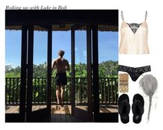"""Waking up with Luke in Bali"" by aasne-midtbo ❤ liked on Polyvore featuring Hanky Panky, River Island and UGG Australia"