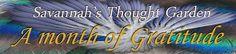 Savannah's Thought Garden: STG's Month of Gratitude - Harper Miller Guest Blo...