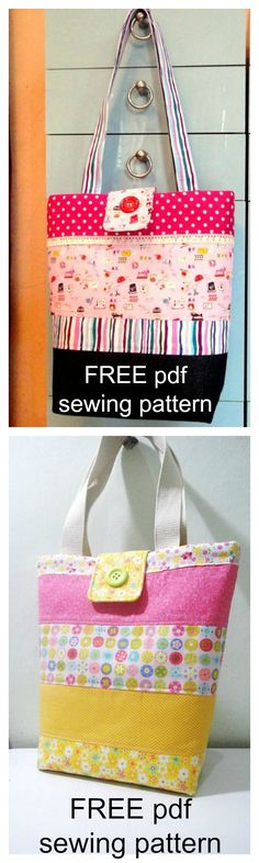 Download this FREE pdf sewing pattern. Miss pretty is a combination of 4 fabric designs ; floral, stripes, polka dots and chevron. However, you can choose any design or colors of your preference .