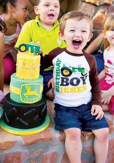 @Tracy Love Creative John Deere Themed Party {Boys Birthday}