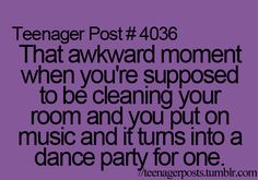 Then it gets even better when your mom walks in.......
