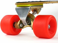 Gordon and Smith Fibreflex Cutaway Slalom Vintage Skateboard