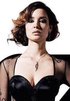 007 James Bond Girl 2012 Skyfall: Bérénice Marlohe (33-year-old Parisian tv actress)