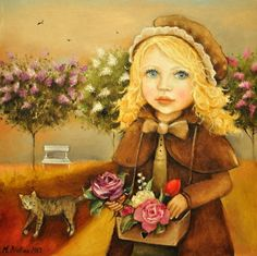 BLATTON - FLOWER-GIRL