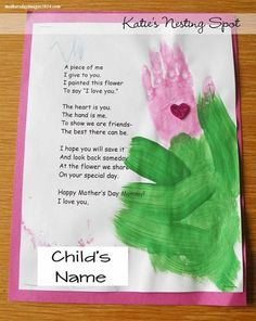 ... mothers day poems about flowers