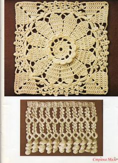 crochet pattern for big granny square