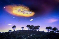 """MUNDOS SOÑADOS  de Pedro J. Benlloch En Huelva se encuentra un lugar apodado como """"Marte en la Tierra"""". Un rincón cuyo río está teñido de rojo y ha sido estudiado por numerosos científicos. Es el pueblo de Ríotinto, el cual nos brinda paisajes totalmente diferentes a lo que estamos acostumbrados. Aprovechando los reflejos de sus aguas, decidí hacer un hueco entre mis trabajos, para retratar este insólito lugar."""