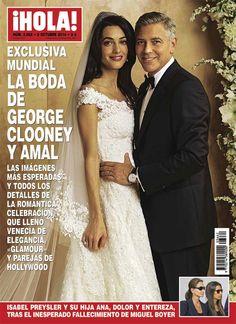 George Clooney y Amal Alamuddin eligen ¡HOLA! para mostrar las fotos de su romántica boda en una gran exclusiva mundial - Foto 1